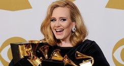 Adele grammy awards press room