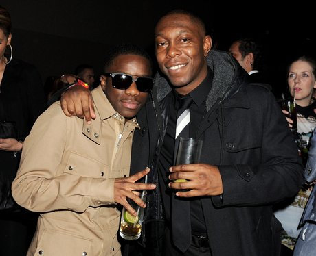 Tinchy Stryder and Tinie Tempah BRIT Awards 2012 a