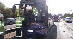 Huntingdon Coach Crash