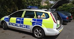 Dorset Police Dog Unit Car