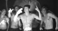 Abercrombie & Fitch models sing topless