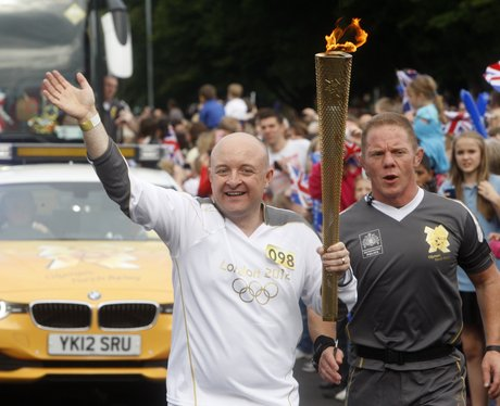 Olympic Torch in Ascot and Bracknell