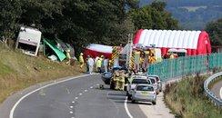 A3 coach crash