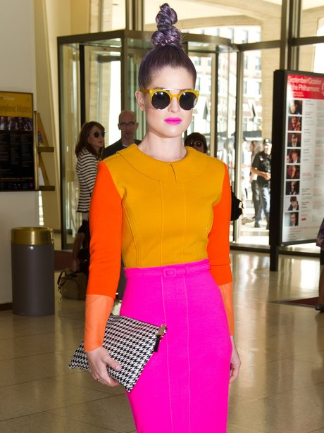 Kelly Osbourne attend Fashion Show