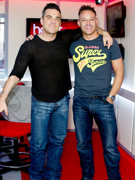 Robbie Williams and Toby Anstis