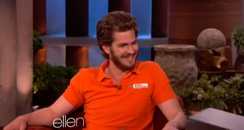 Andrew Garfield on Ellen