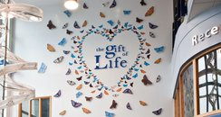 The Gift of Life memorial at the Royal Berkshire..