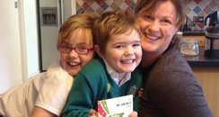Emma, Lily and Lewis Ware From Towcester