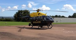 Devon & Cornwall police helicopter