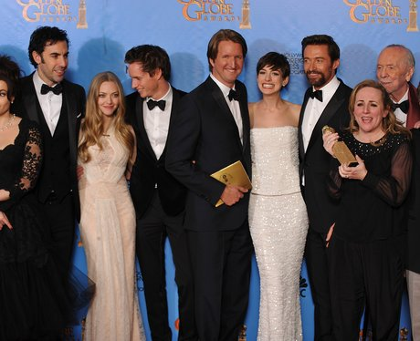 Les Miserables Golden Globes 2013 winners