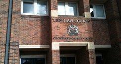 Norwich Crown Court front door