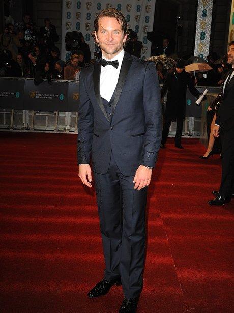 Bradley Cooper at the BAFTA Film Awards 2013