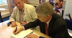 Cambridgeshire Broadband Signing