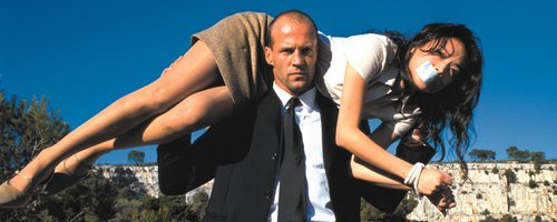 Jasson Statham carries woman