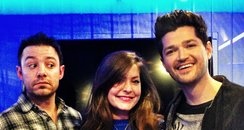 JK Lucy and Danny from the Script