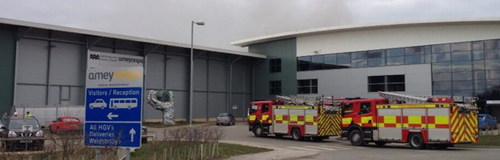 Waterbeach Waste Management Centre Fire