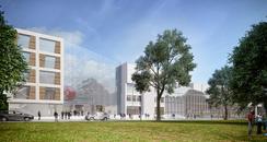 New Soton Solent Uni building