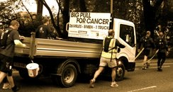 Big Pull For Cancer Truck
