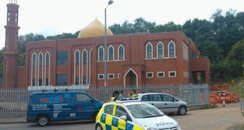 Racist attack on Mosque