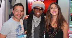 JK & Lucy with Nile Rodgers