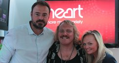 Jamie & Emma with Keith Lemon