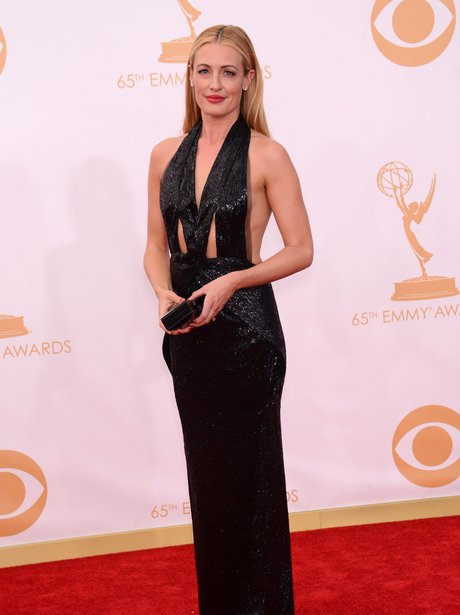 Cat Deeley attends the Emmys