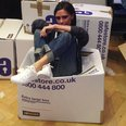 Victoria Beckham donates clothes for charity
