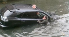 Man rescued from car in River Can, Chelmsford