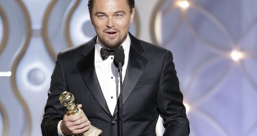 Leonardo DiCaprio at the Golden Globe Awards 2014