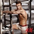 David Beckham in his pants H&M advert