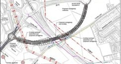A11 Thickthorn Bypass Plan
