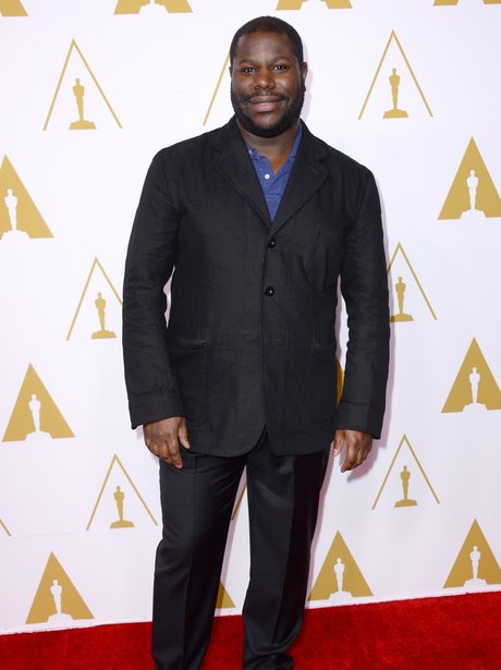 steve mcqueen on the red carpet at the oscar lunch