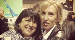 E.L. James and Sam Taylor-Johnson