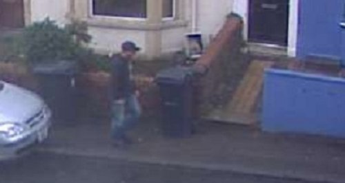 CCTV image of man assault on Bristol pensioner