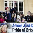 Jenny Jones Arrives On Open-Top Bus