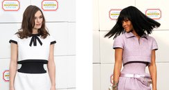 Kiera Knightly and Rihanna wearing Chanel