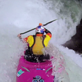 Dane Jackson's 60ft Waterfall Drop In A Kayak