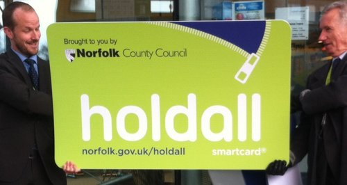 Norfolk Holdall Card