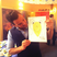 Image 1: Peter Andre with a child's picture