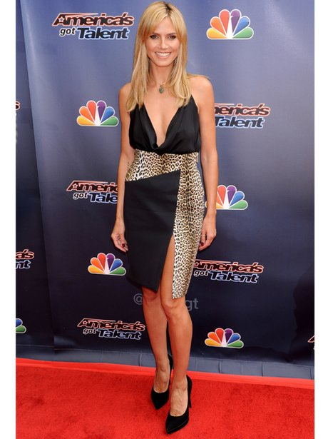Heidi Klum on the red carpet
