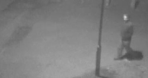 CCTV released a man police want to identify