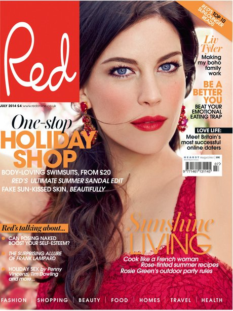 Liv Tyler Red Magazine
