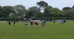 Cornwall Rugby training
