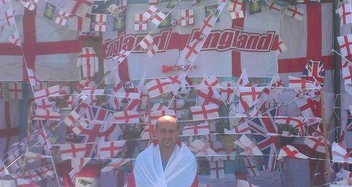 England Flags Southampton 2