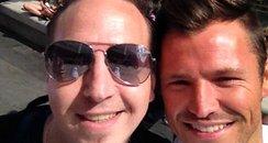Mark Wright selfies