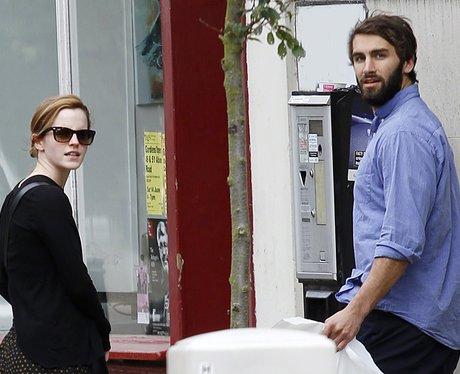 Emma Watson and new boyfriend Matthew Janney