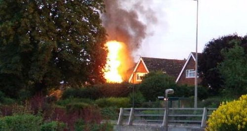 Gas explosion Bletchley