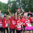 Oxford Race for Life 2014 Cheerzone