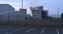 Didcot A being demolished