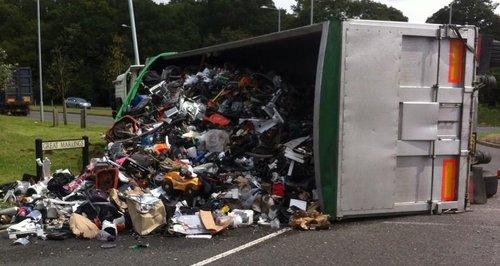 Luton Lorry Crash